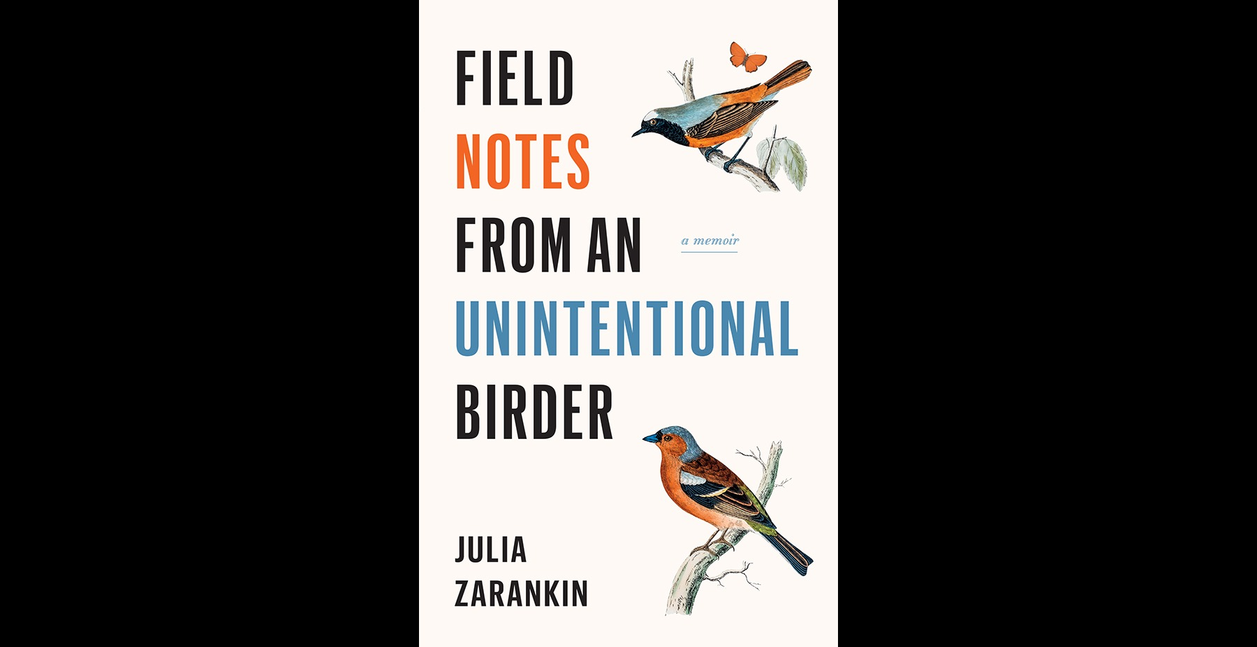 Join us for a book launch – Field Notes from an Unintentional Birder
